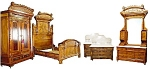 5 Pc Aesthetic Movement Bedroom Suite C. 1880