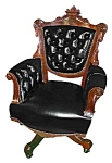 19th C. American Victorianswivel Chair