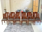 12 Art Deco Chairs With Crocodile Leather