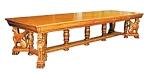 Horner Bros. American Quarter Sawn Oak Table