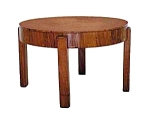 Art Deco Rosewood Side Table