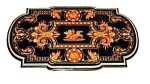 Inlaid Herter Bros. Table W/bronze Trim