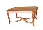 12.935 French Country Walnut Library Table