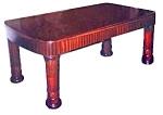 20.4704 Art Deco Mohagany Table Desk C.1920