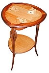 Art Nouveau Inlaid Tray Table By Majorelle.