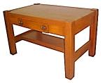 Nice Oak Mission Table W/center Drawer C.1910
