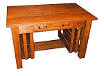 Charming Oak Mission Table.