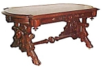 Renn Revival Library Table By Thomas Brooks
