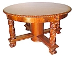 Beautiful Round Mahogany Center Table C. 1890