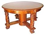 Beautiful Round Mahogany Center Table C. 1890