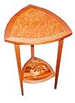 19th C. American Art Nouveau Side Table.