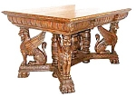 American Griffin Table By Horner Brothers
