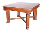 Center Table W/mother-of-pearl Inlay.