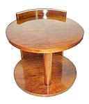 Fabulous Round Art Deco Center Table