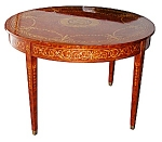 Beautiful Inlaid Dining Table By Versace