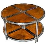 Unique Four-piece Art Deco Side Table
