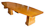 Monumental 16'l Walnut Conference Table