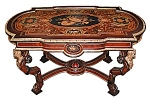 Rosewood Inlaid Table By Pottier & Stymus.