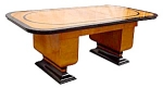 Spectacular Art Deco Table Or Desk W/leaves