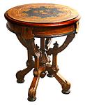 Inlaid Berkey & Gay American Victorian Table