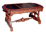 Victorian Walnut Writing Table By T. Brooks