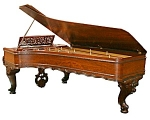 Beautiful Art Case Rosewood Chickering Piano
