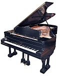 Beautiful Black Knabe Concert Grand Piano