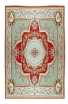 Spectacular 19th C. French Aubusson Palace Rug