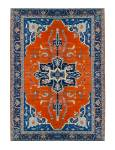 2796 Beautiful Heriz Persian Rug C. 1920