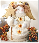 Jiggling Holiday Decoration - Angel - New
