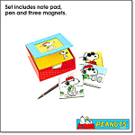 Peanuts Joe Cool Notepad With Pen Gift Set