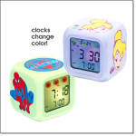 Tinker Bell Color-changing Clock