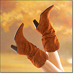 Slouchy Suede Comfort Boot