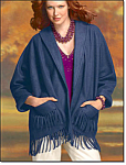 Navy Shawl Jacket