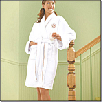 Planet Spa White Luxurious Robe Set