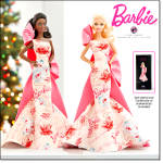 Rose Splendor Barbie 2010