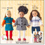 Madame Alexander Doll - Chloe, Shelia, Or Hal