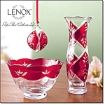 Lenox Crimson Splendor Collection 3pc