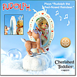 Rudolph And Me Cherished Teddies Musical