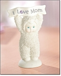 I Love Mom Snowbabies Figurine - New