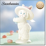 Snowbunnies Bonnets And Bows Figurine