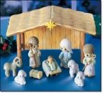 Precious Moments 11-pc Nativity Playset