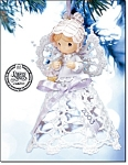 2003 And 2004 Precious Moments Lace Ornaments