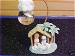 Precious Moments Nativity Waterball - 2001