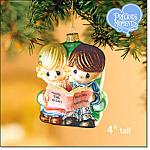 Precious Moments Blown Glass Ornament