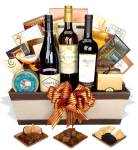 Wine And Gourmet Gift Basket