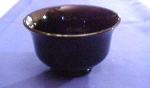 Black Glass Bowl/planter