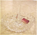 Gorham Full Lead Crystal Ring Holder-new