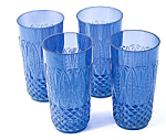 Royal Sapphire Beverage Glasses (Set Of 4)