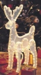3-dimensional Lighted Reindeer - Standing
